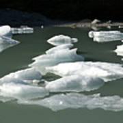 Norway, Iceberg Floating On Water Art Print