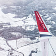 Norwegian Aerial Art Print