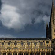 Norwich Cathedral Art Print