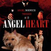 Norwich Terrier Art Canvas Print - Angel Heart Movie Poster Art Print