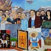 Nosotros Los Hombres Verdes De Mexico Art Print
