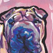 Not A Hippo- Just Hip Art Print