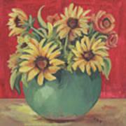 Not Just Sunflowers Art Print