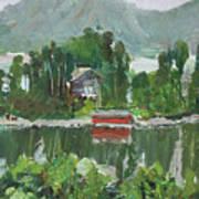 Nothagen Island Scenery Art Print