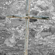 Nothing But The Cross Art Print