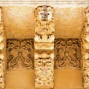 Noto, Sicily, Italy - Detail Of Baroque Balcony, 1750 Art Print
