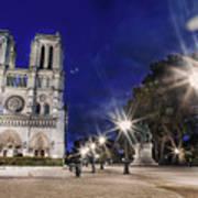 Notre Dame Cathedral Paris 2 Art Print