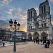 Notre Dame Cathedral Paris 2.0 Art Print
