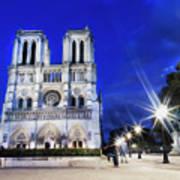 Notre Dame Cathedral Paris 4 Art Print