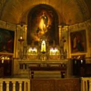 Notre-dame-de-bon-secours Chapel Art Print
