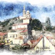 Notre Dame De La Garde-marseille Art Print