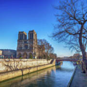 Notre Dame Of Paris  Art Print