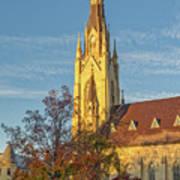 Notre Dame University Basilica Of The Sacred Heart Art Print