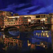 Notturno Fiorentino Art Print