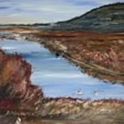 Novato Bay Inlet Art Print