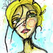 November Jane Art Print