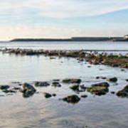 November Seascape 5 - Lyme Regis Art Print