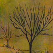 November Tree Art Print