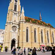 Novi Sad Cathedral Art Print