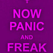Now Panic 14 Art Print