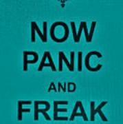 Now Panic 26 Art Print