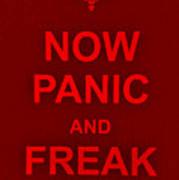 Now Panic 9 Art Print