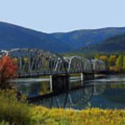 Noxon Bridge Art Print