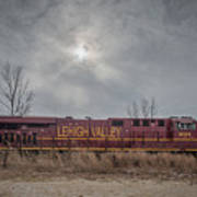Ns 8104 Lehigh Valley At Booneville In Art Print