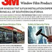 Nu-vue Window Films Infographics Art Print
