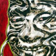 Nuba Paint Art Print