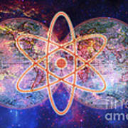 Nuclear World Art Print