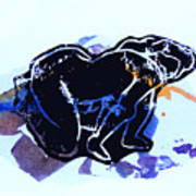Nude 1 Art Print by Adam Kissel