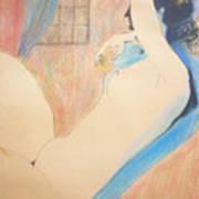 Nude 22 Print by Alex Rahav