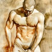 Nude 43 Art Print