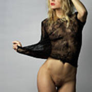 Nude Fashion Art Print