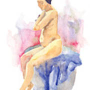 Nude Female 15 Art Print