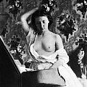 Nude Fixing Hair, C1861 Art Print