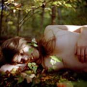 Nude In Nature 4 Art Print