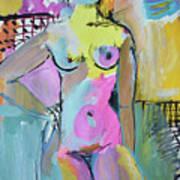 Nude, Indefinitely Waiting Art Print