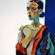 Nude-j Art Print by Piotr Antonow