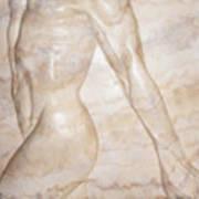 Nude Male Strolling Art Print
