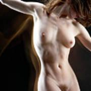Nude-pate1 Art Print