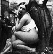 Nude Posing, C1843 Art Print