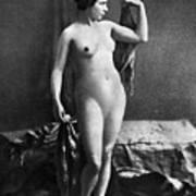 Nude Posing, C1855 Art Print