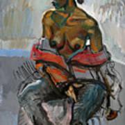 Nude-s Art Print