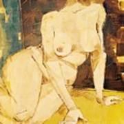 Nude Series, #3 Art Print