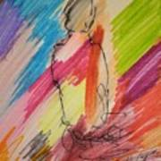 Nude Study R Art Print