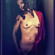 Nude Young Woman 1718.04 Art Print