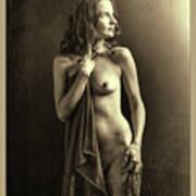 Nude Young Woman 1718.502 Art Print