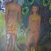 Nudes Elation Art Print